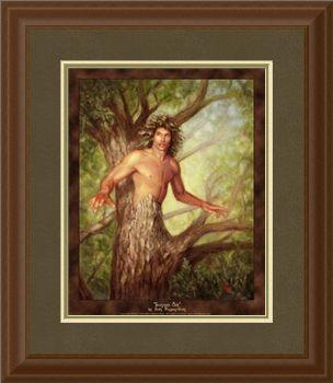 Framed Summer Oak
