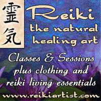 Reiki Artist Facebook Page