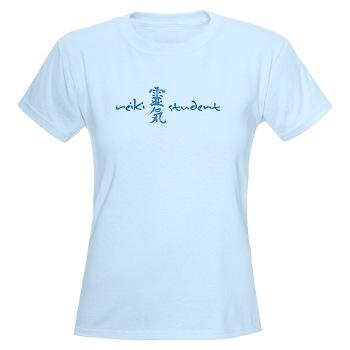 Reiki Student Blue T-shirt